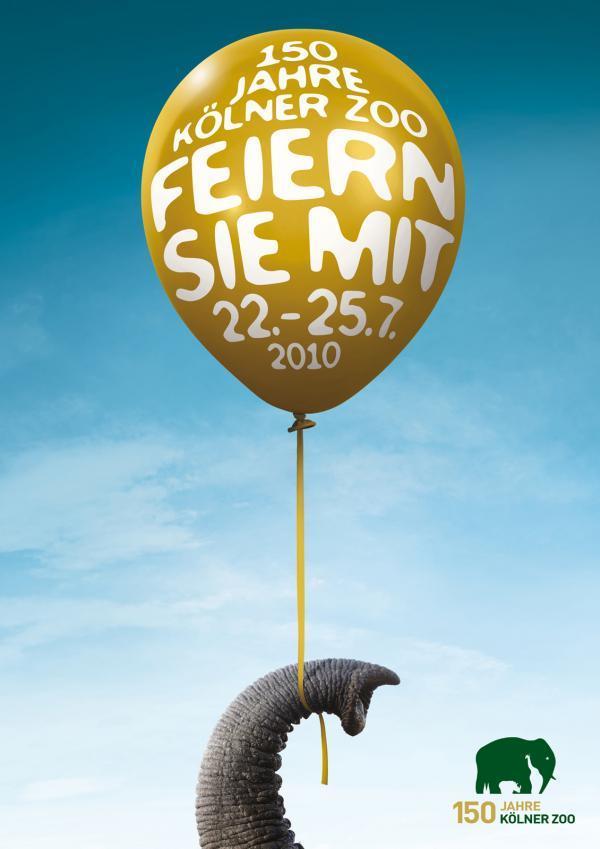 Kölner Zoo 150 Year Anniversary Ad Campaign 1