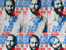 Jazzdor 2010 festival posters