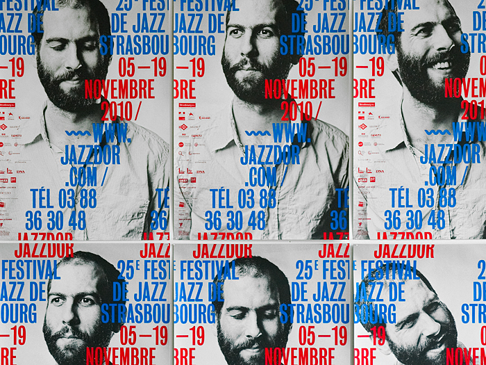 Jazzdor 2010 festival posters 2
