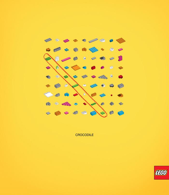 LEGO Crosswords Ad Campaign
