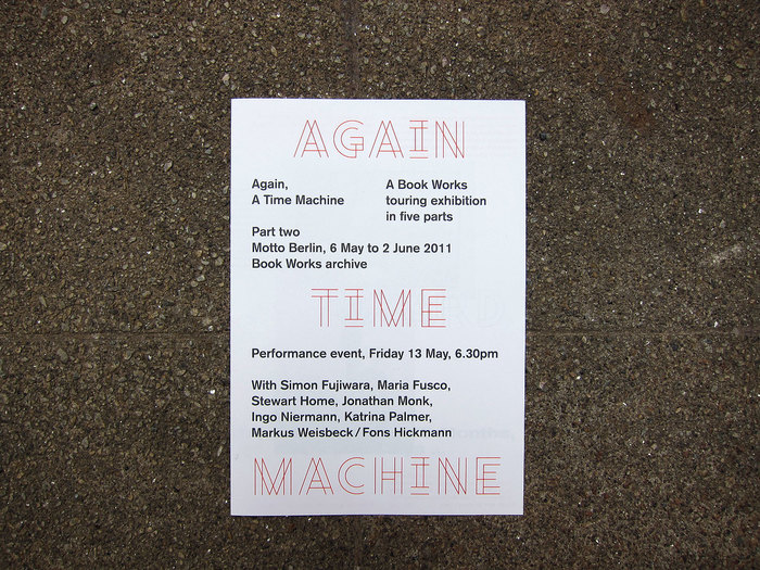 """Again, A Time Machine"" at Motto 5"