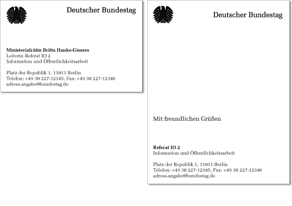 German Federal Parliament Corporate Identity 7