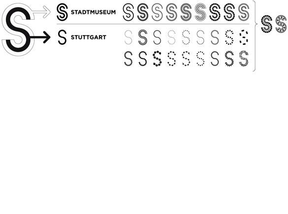 Corporate Design Stadtmuseum Stuttgart 2