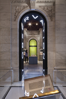 Exhibition 100 years New York Public Library