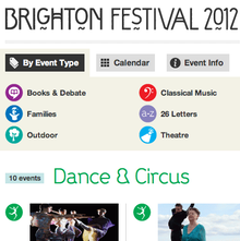 Brighton Festival 2012 Website