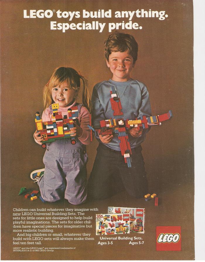 LEGO ads (1980–82) 2