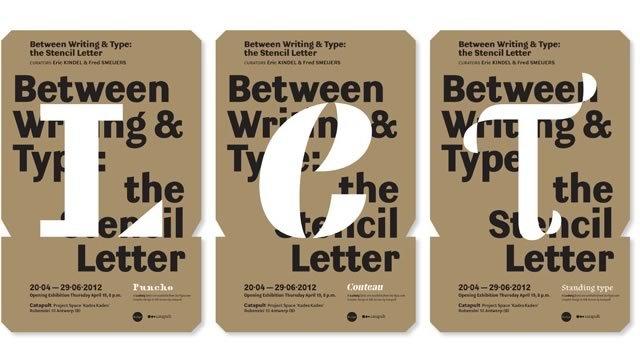 Between Writing & Type exhibition 2