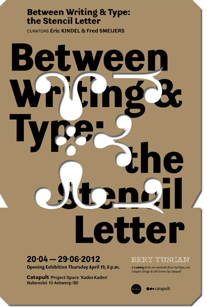 Between Writing & Type exhibition 3