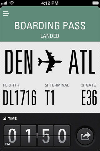 Flight Card 5