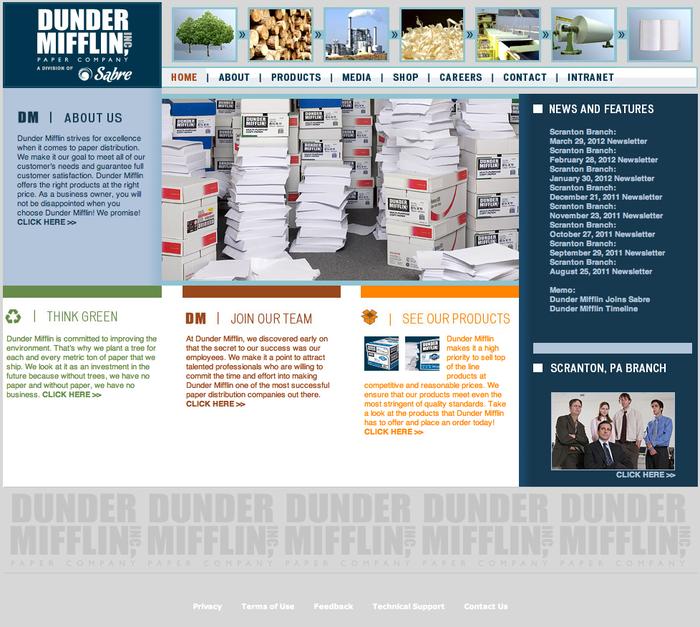 Dunder Mifflin Paper Company 1