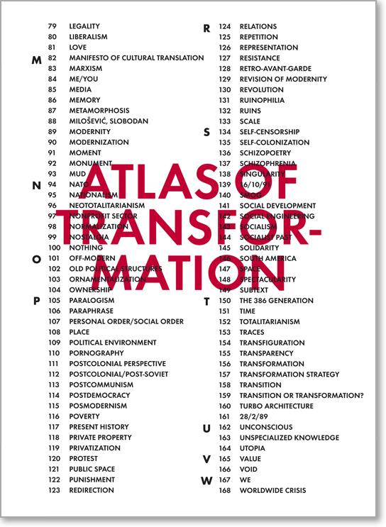 Atlas of Transformation 1