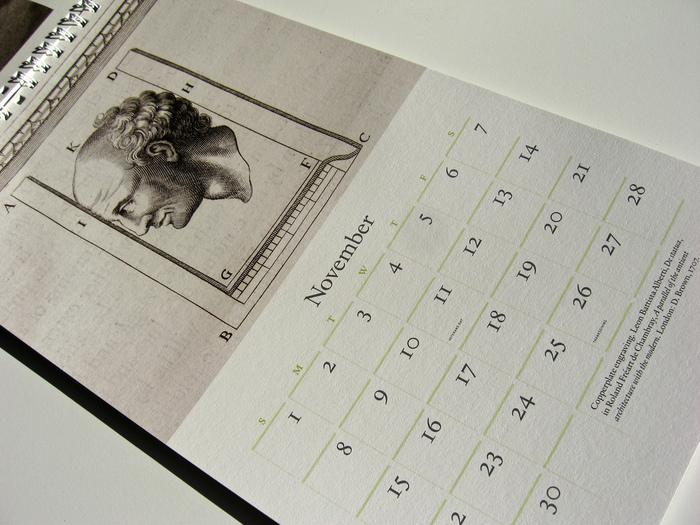 42-line 2009 Rare Book Calendar 4