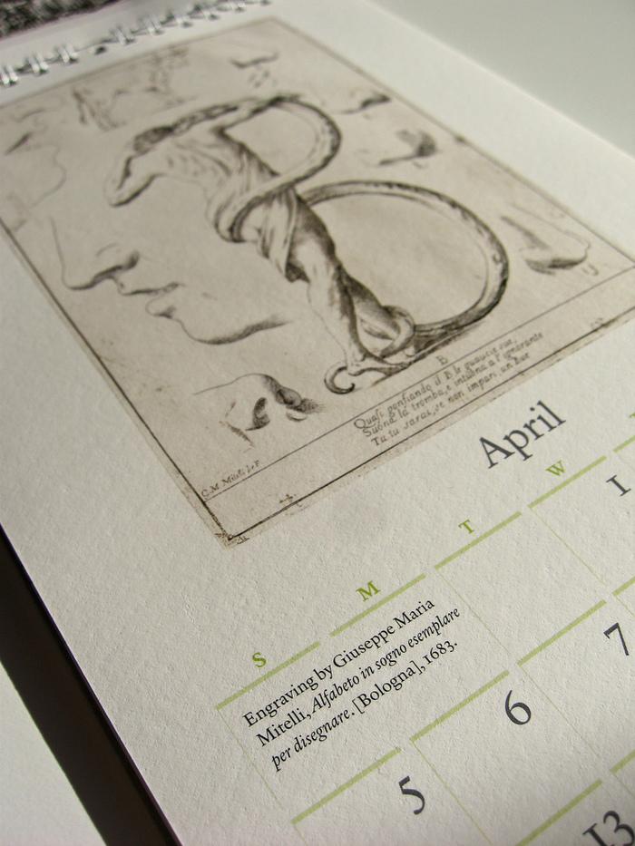 42-line 2009 Rare Book Calendar 5