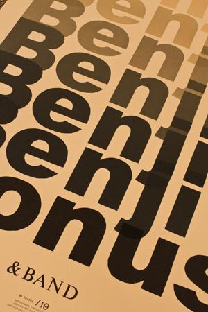 Benji band poster 2
