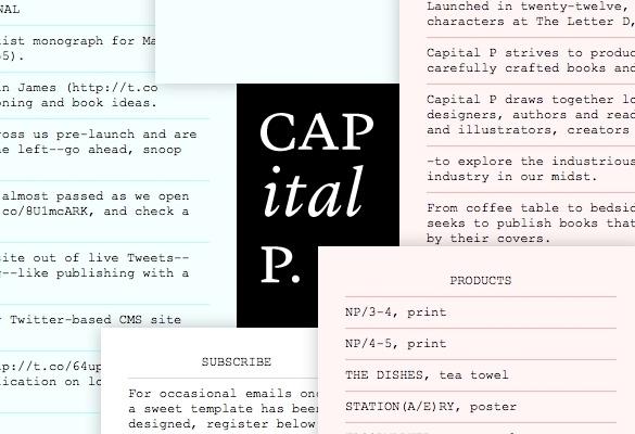 Capital P 1
