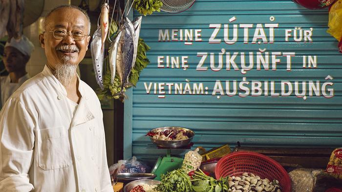 """Misereor """"Vietnam"""" poster"""