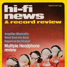 <cite>Hi-Fi News & Record Review</cite>, March 1977