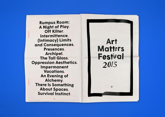 Art Matters Festival 2015 1