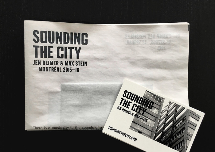 Sounding the City 2