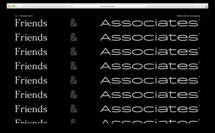 Friends & Associates 1