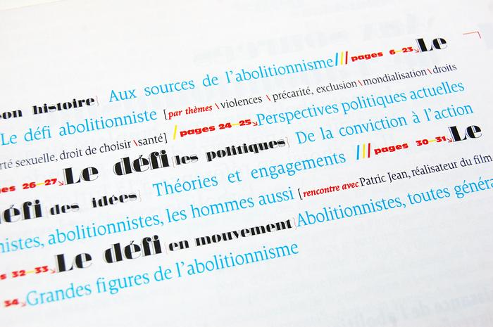 Prostitution et Société magazine, no.164 3