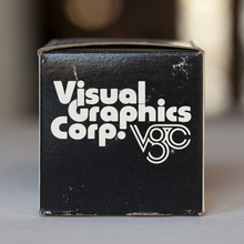 Visual Graphics Corp. film font box