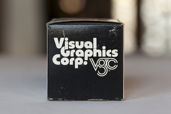 Visual Graphics Corp. film font box