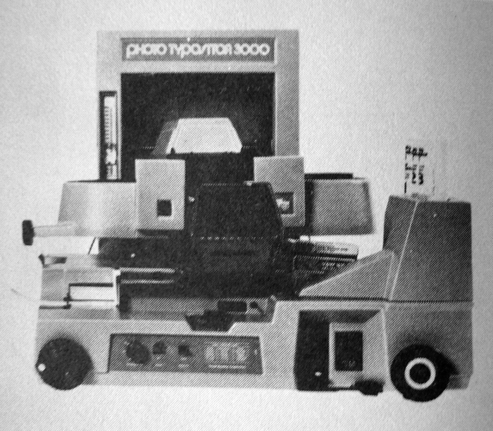 VGC Photo Typositor 3000/3100 and 3200 logos 1