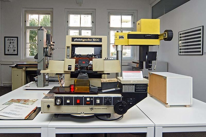 The Museum of the Printing Arts in Leipzig is home to a Photo Typositor 3200.