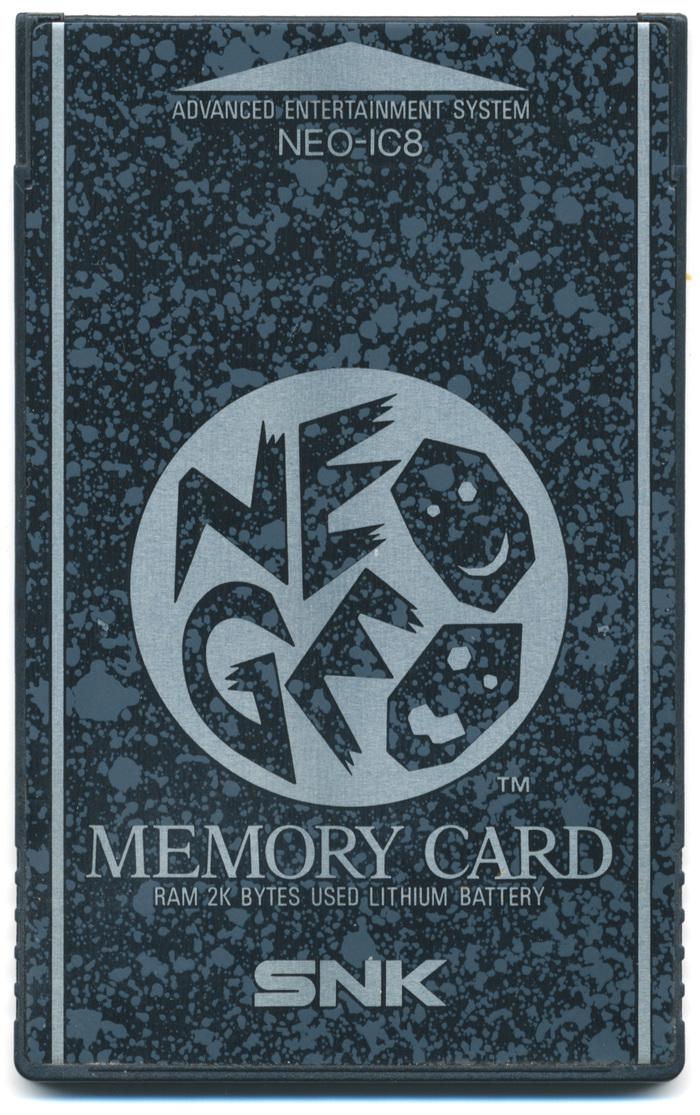 "SNK Neo Geo ""NEO-IC8"" Memory Card"