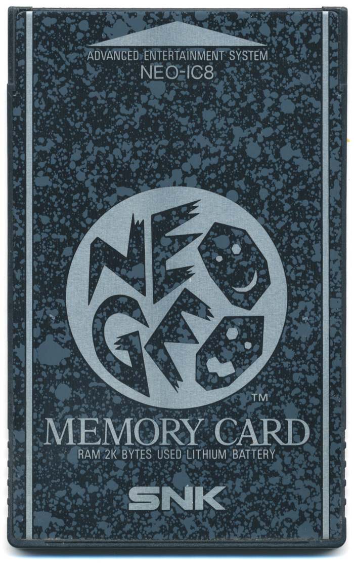 "SNK Neo Geo ""NEO-IC8"" Memory Card"