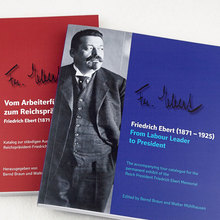Friedrich Ebert memorial exhibition catalogue