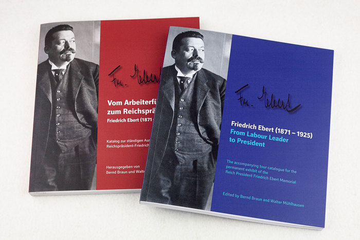 Friedrich Ebert memorial exhibition catalogue 1