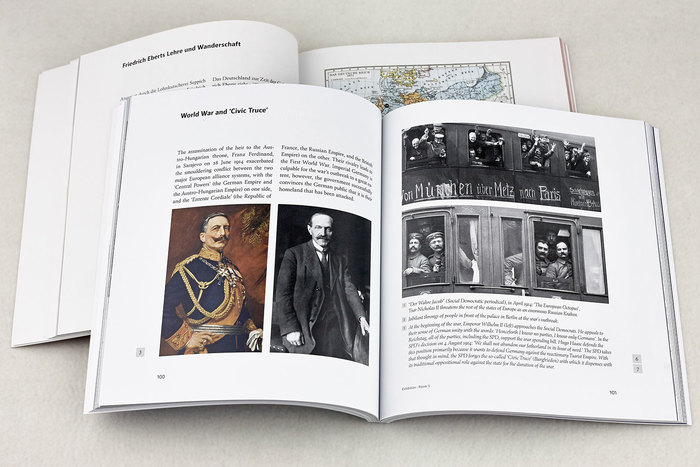 Friedrich Ebert memorial exhibition catalogue 2