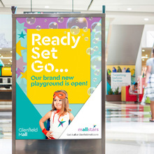 Glenfield Mall identity