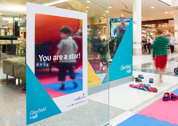 Glenfield Mall identity 5