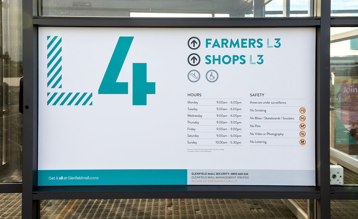 Glenfield Mall identity 7