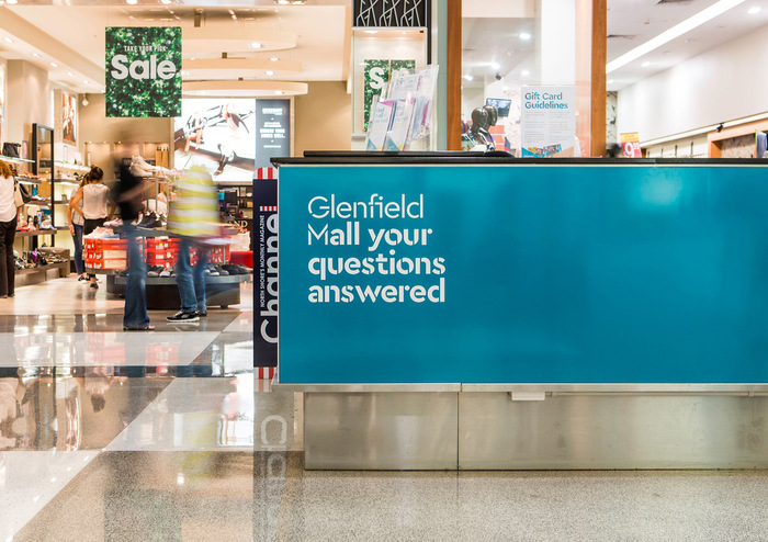 Glenfield Mall identity 8