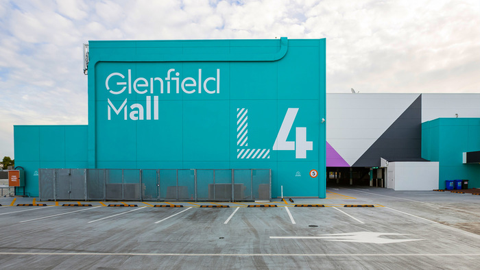 Glenfield Mall identity 10