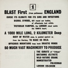 "<cite>BLAST: Review of the Great English Vortex</cite> No.<span class=""nbsp""> </span>1, by Wyndham Lewis (ed.)"