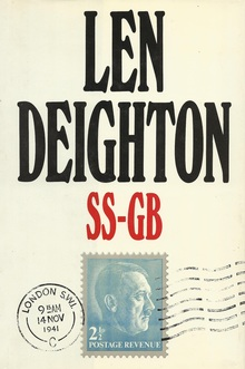 <cite>SS-GB</cite> by Len Deighton, book covers
