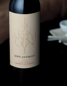 John Anthony wine label