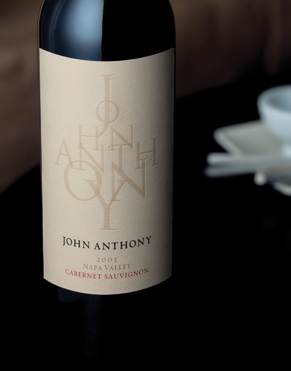 John Anthony wine label 1