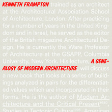 Kenneth Frampton: Cranbrook Academy of Art Lecture Series