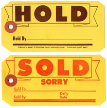 Hold, Sold, & 2nd Grade Butterfat