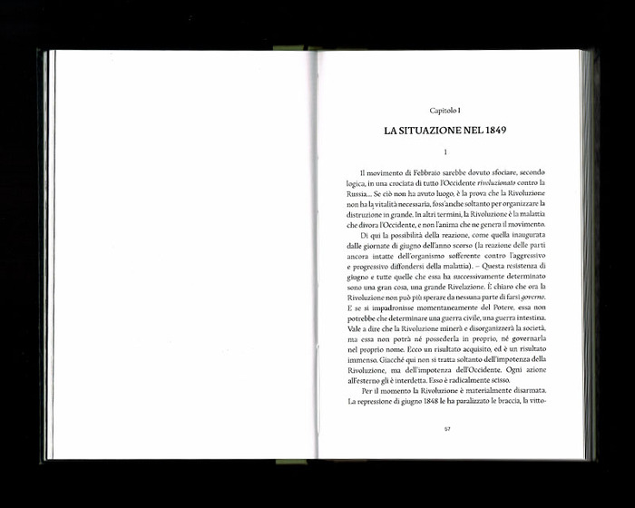 La Russia e l'Occidente, Beatrix Editions 25