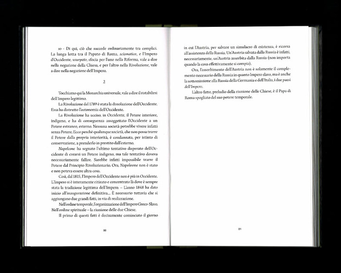 La Russia e l'Occidente, Beatrix Editions 29