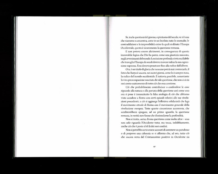 La Russia e l'Occidente, Beatrix Editions 32