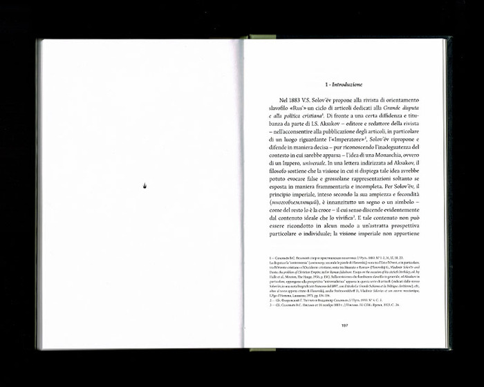 La Russia e l'Occidente, Beatrix Editions 36