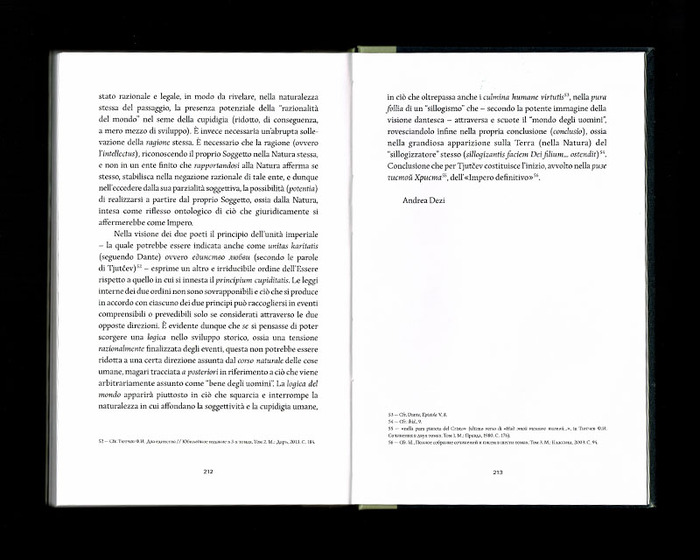 La Russia e l'Occidente, Beatrix Editions 40